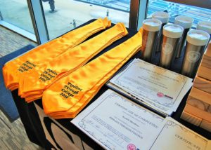 Certificate of completion the Pipeline Through College