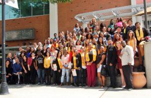 Group photo of graduate