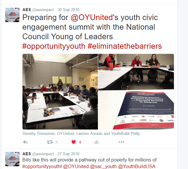 Preparing for OYUnited's youth civic engagement summit with the National Council Young of Leaders Tweet