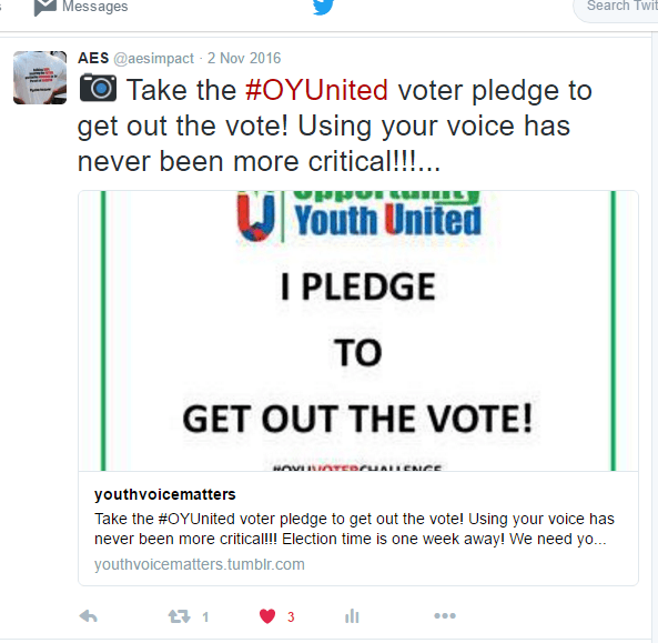 Sacramento Takes the OYU Voter Pledge