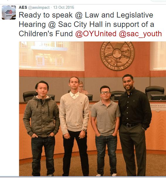 SYA at City Hall